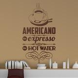 Wandtattoos: American Coffee 0
