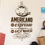 Wandtattoos: American Coffee 2