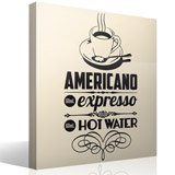Wandtattoos: American Coffee 3