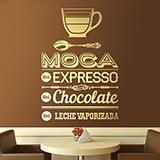 Wandtattoos: Café Moca 2