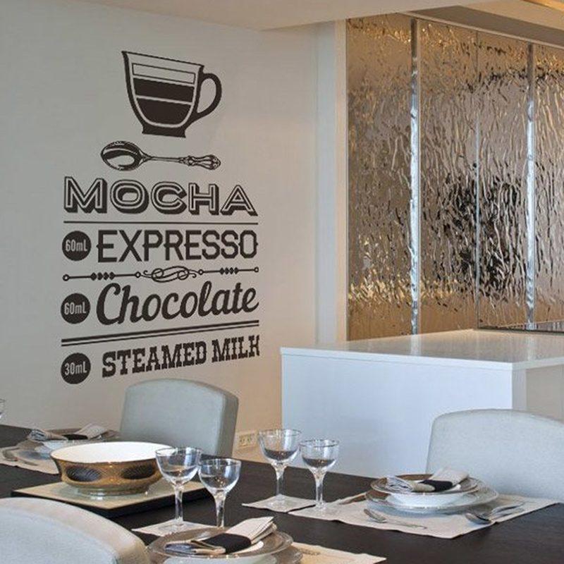 Wandtattoos: Coffee Mocha