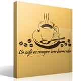 Wandtattoos: Un café es siempre una buena idea 3