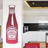 Wandtattoos: Heinz Ketchup 2