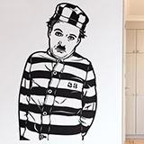 Wandtattoos: Chaplin Der Pilger 0