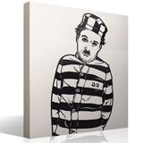 Wandtattoos: Chaplin Der Pilger 2