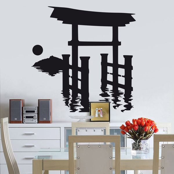 Wandtattoos: Torii-Tor in Japan 0