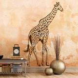 Wandtattoos: Giraffe 0