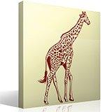 Wandtattoos: Giraffe 2