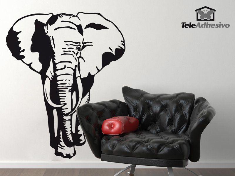 Wandtattoos: Elefant