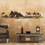 Wandtattoos: Pyramiden in der Wüste 0
