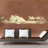 Wandtattoos: Pyramiden in der Wüste 2