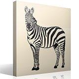 Wandtattoos: Zebra 2