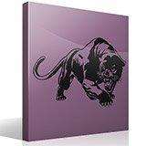 Wandtattoos: panther 2