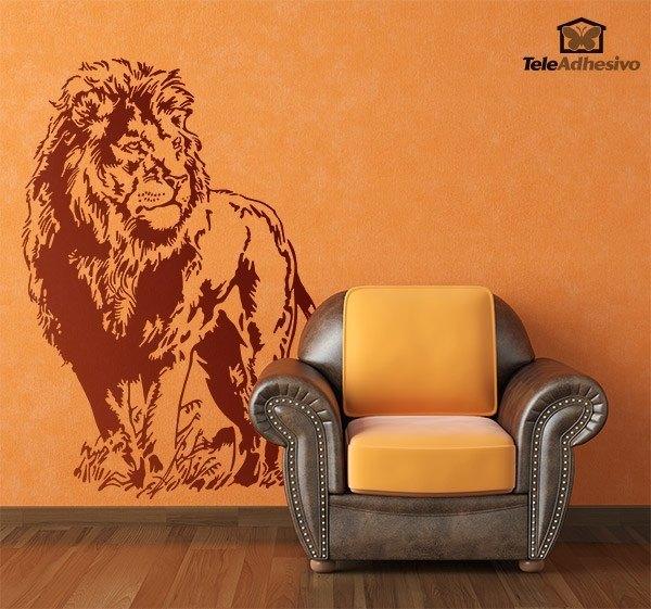 Wandtattoos: Löwe