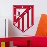 Wandtattoos: Atletico Madrid wappen 0