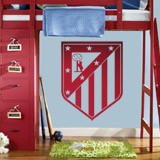 Wandtattoos: Atletico Madrid wappen 3