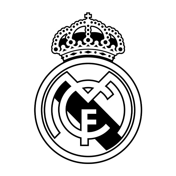 Wandtattoos: Real Madrid wappen