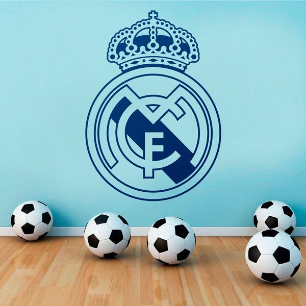 Real madrid wappen for Decoration chambre real madrid