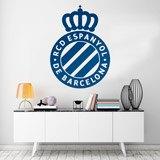 Wandtattoos: Espanyol de Barcelona wappen 2