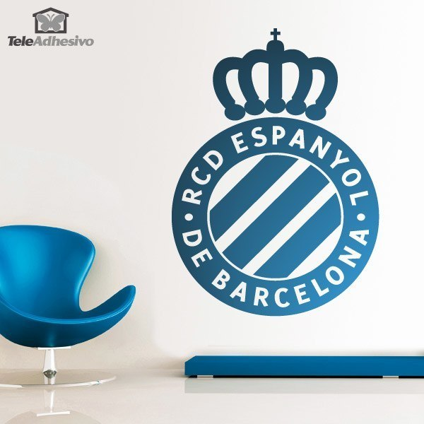 Wandtattoos: Espanyol de Barcelona wappen