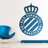 Wandtattoos: Espanyol de Barcelona wappen 3