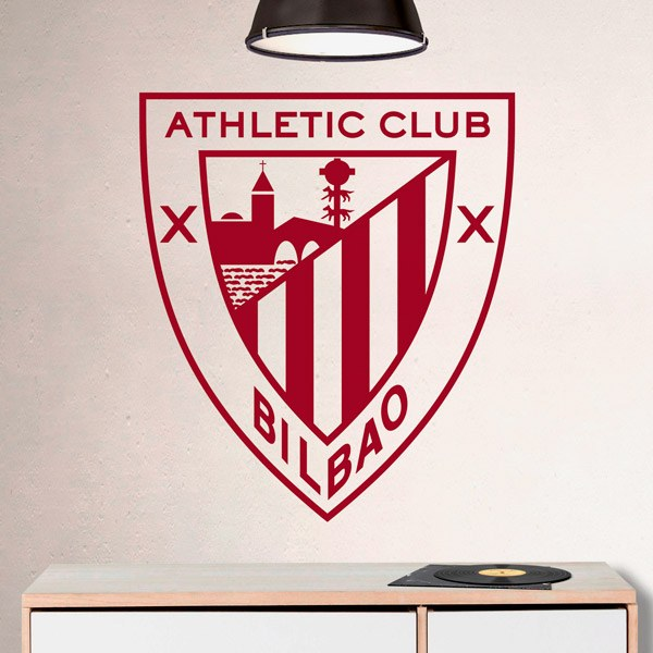 Wandtattoos: Athletic Club de Bilbao wappen