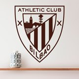 Wandtattoos: Athletic Club de Bilbao wappen 2