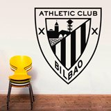Wandtattoos: Athletic Club de Bilbao wappen 3