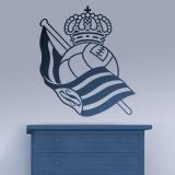 Wandtattoos: Real Sociedad de San Sebastián wappen 3