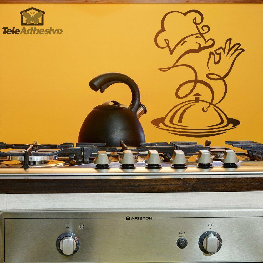 Wandtattoos: Chef-Küche Feinkost