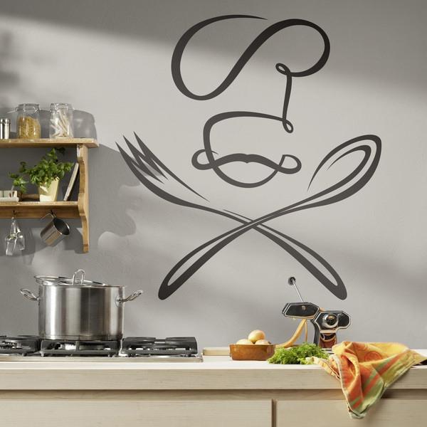 Wandtattoo für Küche | WebWandtattoo.com