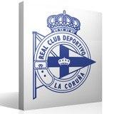 Wandtattoos: Deportivo de la Coruña wappen 2