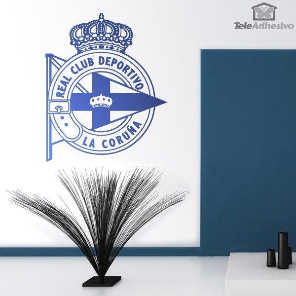 Wandtattoos: Deportivo de la Coruña wappen