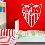 Wandtattoos: Sevilla Fútbol Club wappen 0