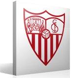 Wandtattoos: Sevilla Fútbol Club wappen 2
