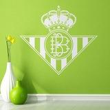 Wandtattoos: Real Betis Balompié wappen 0