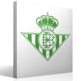 Wandtattoos: Real Betis Balompié wappen 2