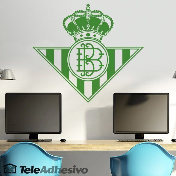 Wandtattoos: Real Betis Balompié wappen