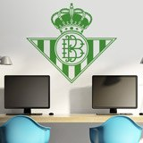 Wandtattoos: Real Betis Balompié wappen 3