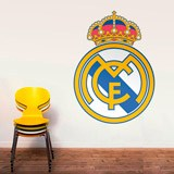 Wandtattoos: Real Madrid wappen Farbe 1