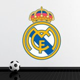 Wandtattoos: Real Madrid wappen Farbe 2