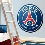 Wandtattoos: Paris Saint-Germain FC wappen Farbe 0