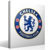 Wandtattoos: Chelsea FC wappen Farbe 1