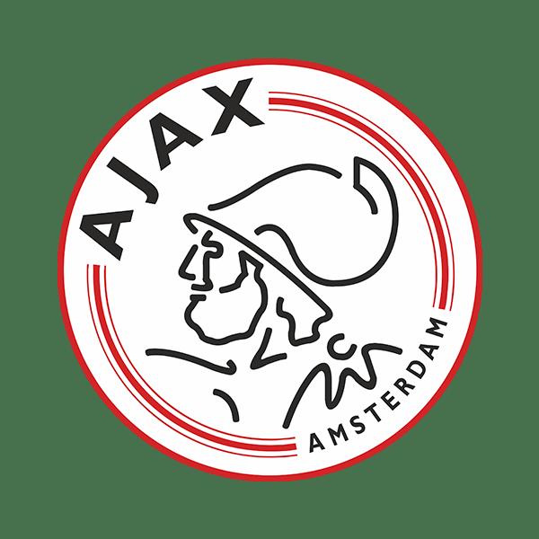Wandtattoos: Ajax Amsterdam wappen Farbe