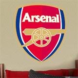 Wandtattoos: FC Arsenal wappen Farbe 4