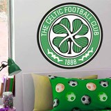 Wandtattoos: Celtic FC wappen Farbe 3