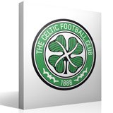 Wandtattoos: Celtic FC wappen Farbe 4