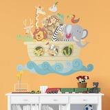 Kinderzimmer Wandtattoo: Noah s Ark color 0