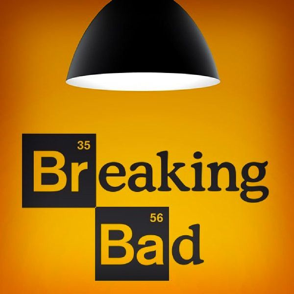 Wandtattoos: Logo Breaking Bad 1