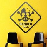 Wandtattoos: Heisenberg Danger Toxic 3